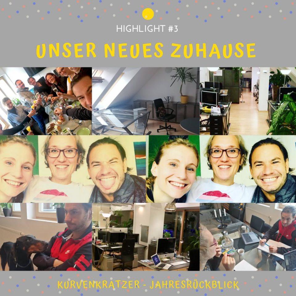 Kurvenkratzer Journey Highlight Unser Neues Zuhause In Der Kreativagentur CU