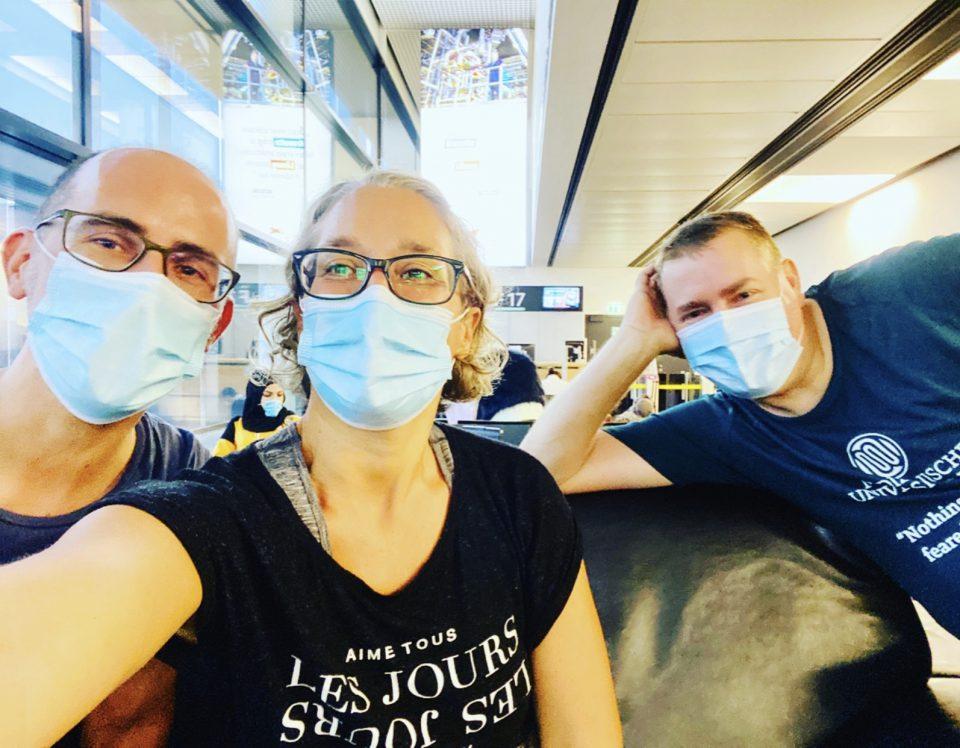 Yes We Cancer Reise Nach Berlin Yes We Cancer Gruppenfoto Krebsblogger Alexander Greiner Martina Hagspiel Werner Achs