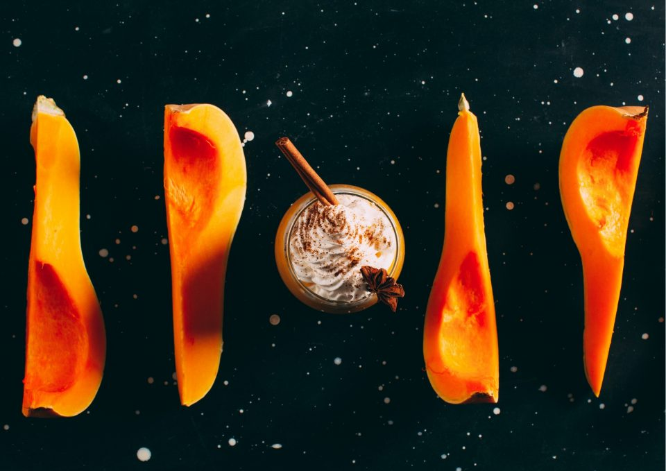 November Pumpkin Spice Latte Kürbis