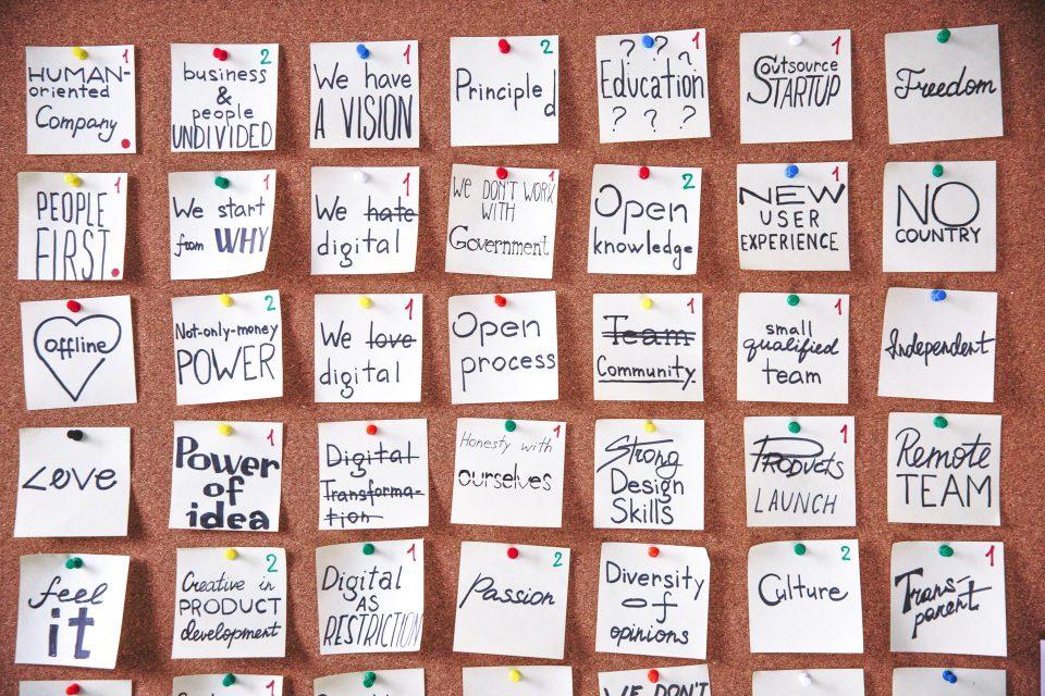 Martina Memo Zur Unternehmenskultur Wir Sind Was Wir Leben