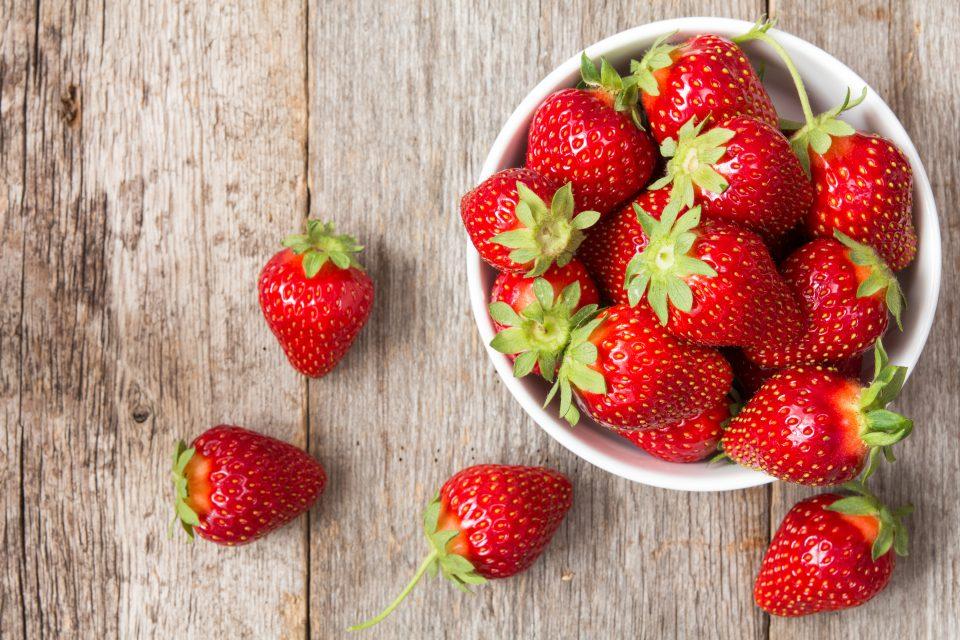 Reif für die Erdbeere!