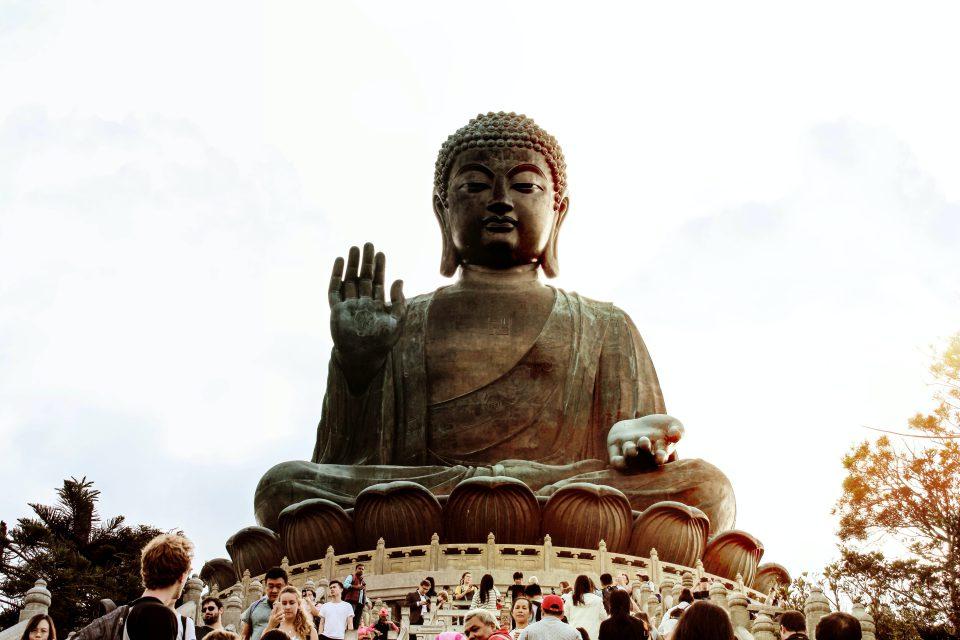 große Buddha-Statue