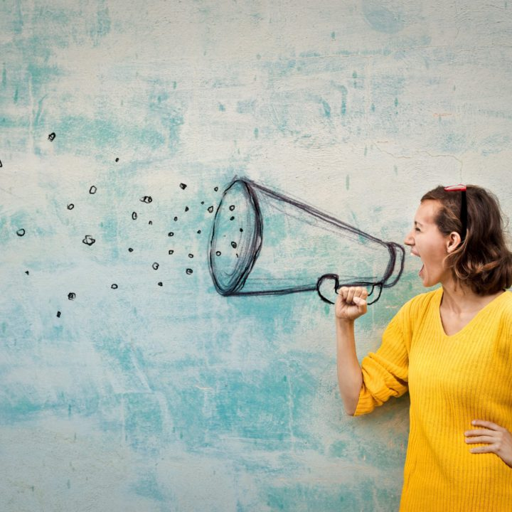 Eine Stimme – be a voice, not an echo