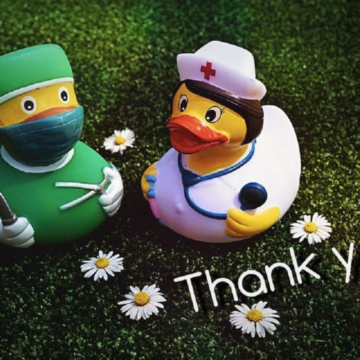 Ein medizinisches Dankeschön